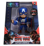 "Captain America: Civil War Captain America Metal Die Cast 4"" Action Figure"