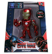 "Captain America: Civil War Iron Man Metal Die Cast 4"" Action Figure"