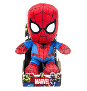 "Posh Paws Marvel Spiderman 10"" Plush"