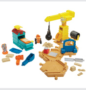 Mash & Mould Construction Site Playset