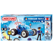 Meccano Rescue Team Police Car