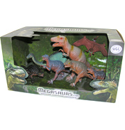 Megasaurs 7 Dinosaur Pack