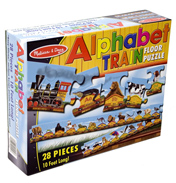 Alphabet Train Floor Puzzle