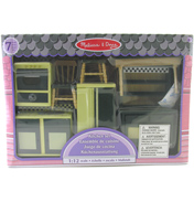 Melissa & Doug Dolls House Kitchen Furniture