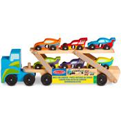 Race Car Carrier With Cars