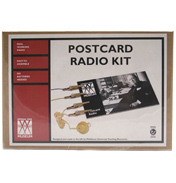 Imperial War Museum Postcard Radio Kit