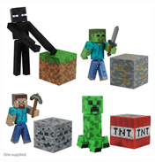 "Minecraft 3"" Action Figure CREEPER"