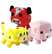 """Minecraft 7"""" Soft Toy Animal Mobs"""