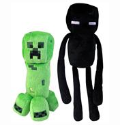"""Minecraft 7"""" Soft Toy Hostile Mobs"""