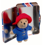 Mini Paddington in Union Jack Suitcase