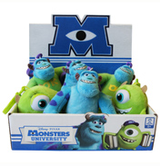 "Monsters University 4"" Basic Plush (ASSORTED)"