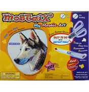 Red Ribbon Series Husky Mosaic Puzzle