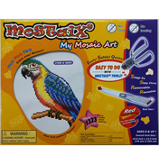 Red Ribbon Series Macaw Mosaic Puzzle