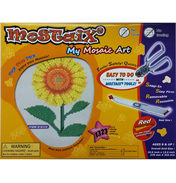 Red Ribbon Series Sunflower Mosaic Puzzle