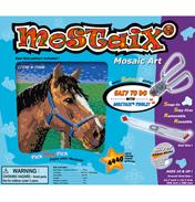 Silver Ribbon Series Horse Mosaic Puzzle