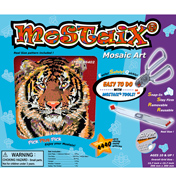 Silver Ribbon Series Tiger Mosaic Puzzle