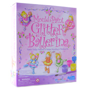 4M Mould & Paint Glitter Ballerina