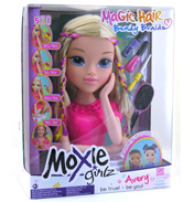Moxie Girlz Magic Hair Bendy Braidz Torso Avery