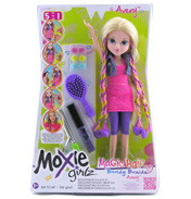 Moxie Girlz Magic Hair Bendy Braidz Doll Bryten