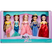 Moxie Girlz Princess 5 Doll Pack