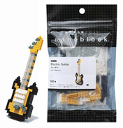 Nanoblock Miniature Collection Electric Guitar…