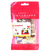 Nanoblock Hello Kitty (110 Pieces)