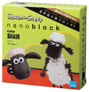 Nanoblock Shaun the Sheep Shaun Building Set