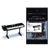 Nanoblock Miniature Collection Synthesizer (Black…