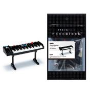 Nanoblock Miniature Collection Synthesizer (Black…