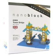 Nanoblock 'Sights to See' Tower Bridge