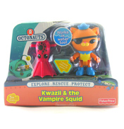 Kwazii & the Vampire Squid Figure Pack