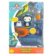 Octonauts Rescue Kit Peso & the Narwhal