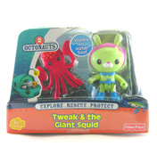 Octonauts Figure Pack Tweak & the Giant Squid