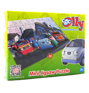 Olly the Little White Van Mini Jigsaw Puzzle