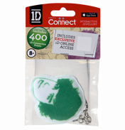 One Direction Fabric Keyrings