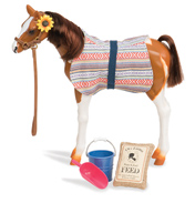 "12"" Pinto Paso Foal & Accessories"