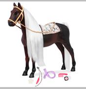 Boho Hair Play Horse