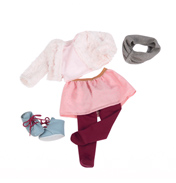 Our Generation Deluxe Doll's Outfit It's Snow Snuggly!