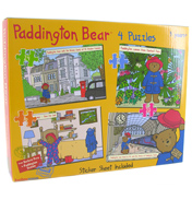 Paddington Bear 4 Puzzles