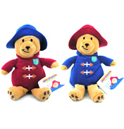 Paddington Bear 14cm Bean Toy (Blue Coat/Red Hat)