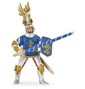 Blue Fleur De Lys Lancer Knight