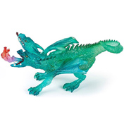 Emerald Two-Headed Dragon