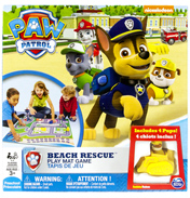 Beach Rescue Playmat Game