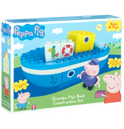 Construction Grandpa Pig's Boat Set