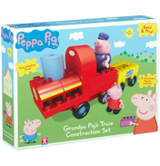 Construction Grandpa Pig's Train Set