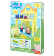Peppa Pig Deluxe Peppa's House Construction…