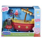 Grandad Dog's Pirate Ship Playset