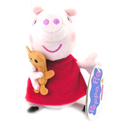 Peppa Pig Supersoft Collectable Plush GEORGE with…