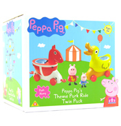 Peppa Pig Theme Park Ride Twin Pack
