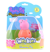 Peppa Pig Weebles Daddy Pig Figure